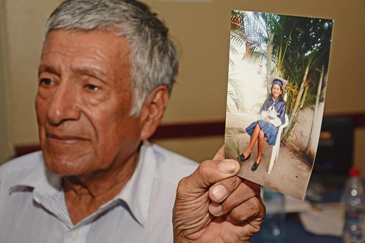 Mayra no estaba en el Felipe Navarrete