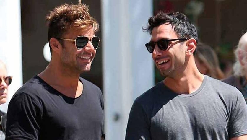 Ricky Martin pasea por Puerto Rico con su nuevo novio