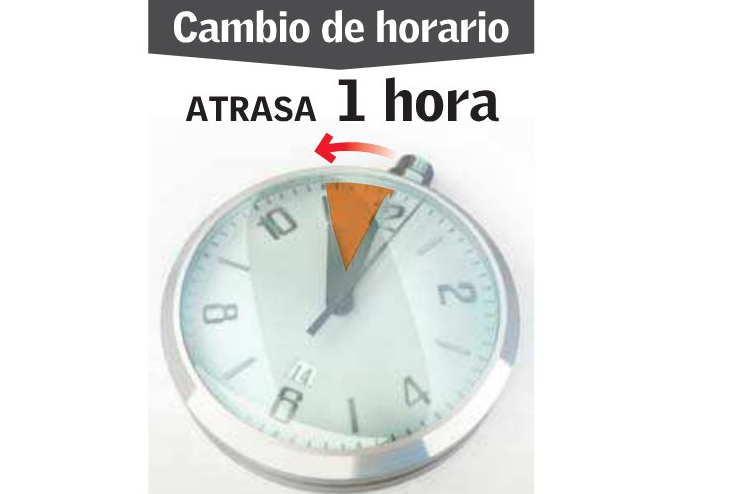 hora gmt chile: