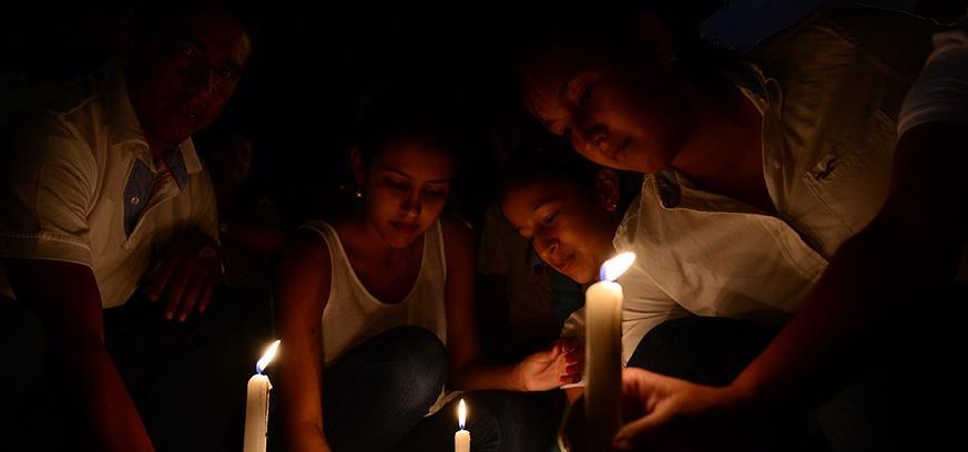 Recuerdan a víctimas del terremoto en misa campal