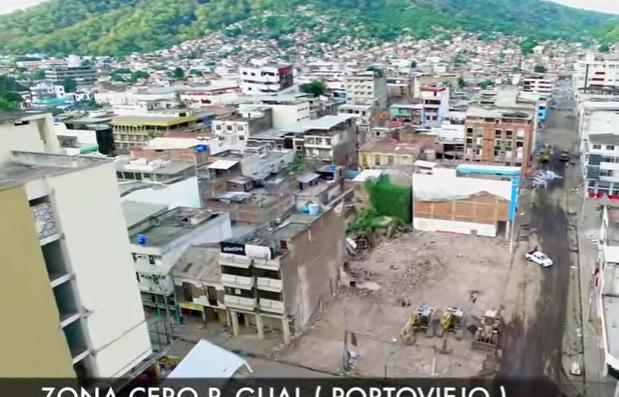 Zona Cero de Portoviejo - Un mes después del terremoto