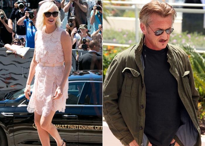 A diferencia del 2015, Sean Penn y Charlize Theron separados en la alfombra roja de Cannes