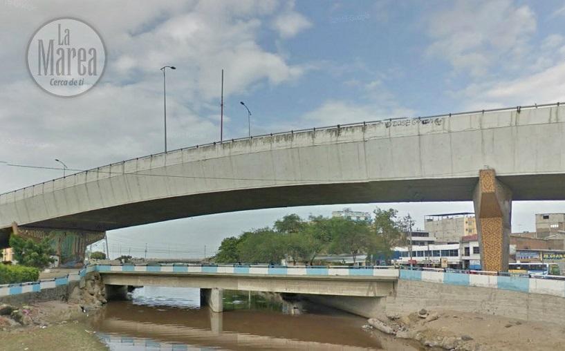 El puente de Tarqui se encuentra en buen estado