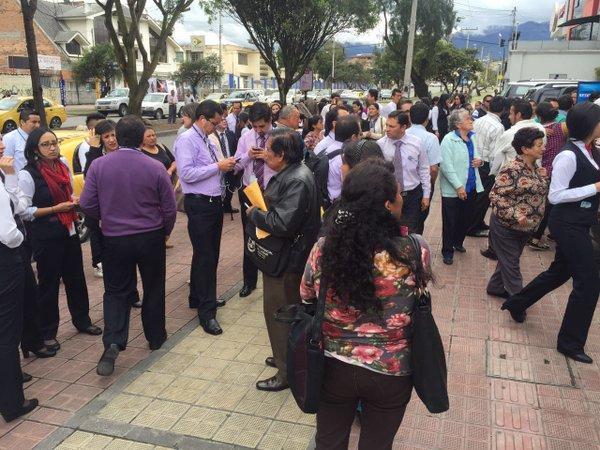 Sismo de 4,9 grados sacude la ciudad de Cuenca
