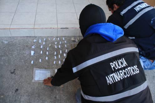 Joven es detenido por presunta tenencia de droga