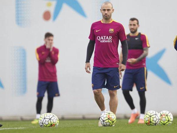El Barcelona no está dispuesto a negociar traspaso de Mascherano