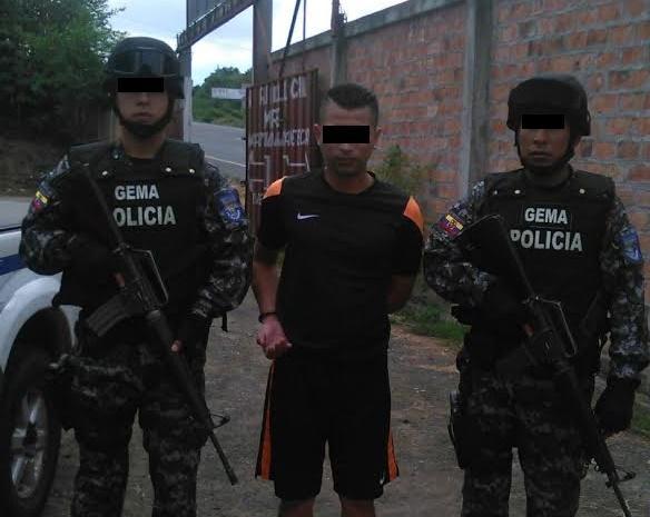 Hombre es detenido en Jipijapa por un presunto asesinato