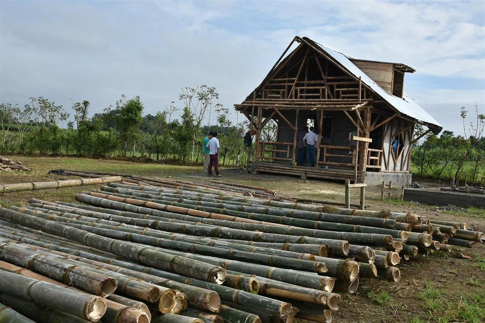 Alistan curso de construcción de Viviendas en Caña Guadúa.