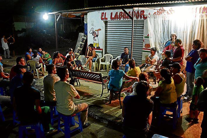 """La """"Zona Cero"""" de Tarqui empieza a organizarse en las noches"""