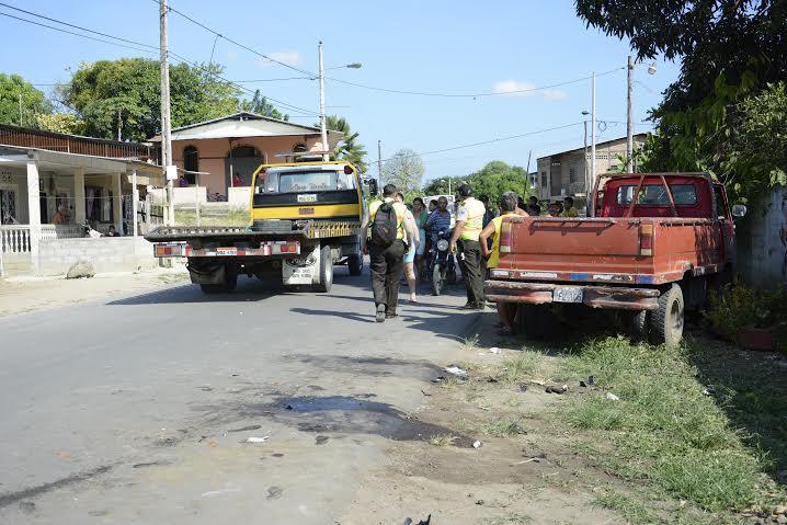 Policía muere en un accidente de tránsito en la vía a Colón