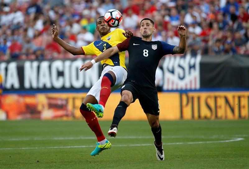 Ecuador cayó 1-0 ante Estados Unidos en partido amistoso en Texas