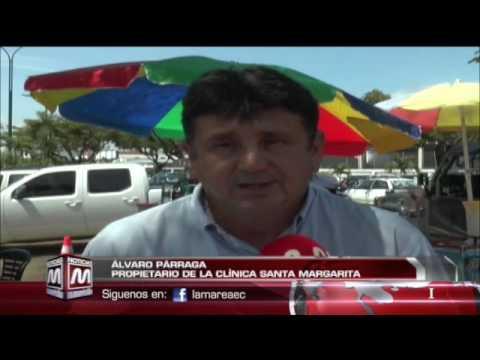 Se hará demolición parcial de la Clínica Sta. Margarita en Portoviejo