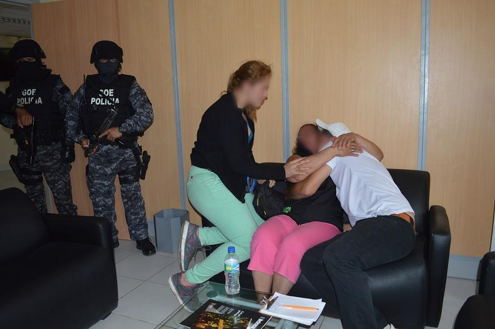 Rescatan a una mujer que estuvo secuestrada durante 96 horas