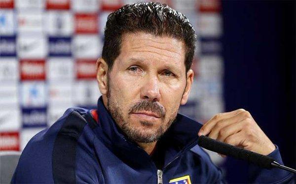 Diego Simeone prefiere la palabra 'oportunidad' a 'revancha'