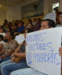 Alluriquín dice no a la reubicación