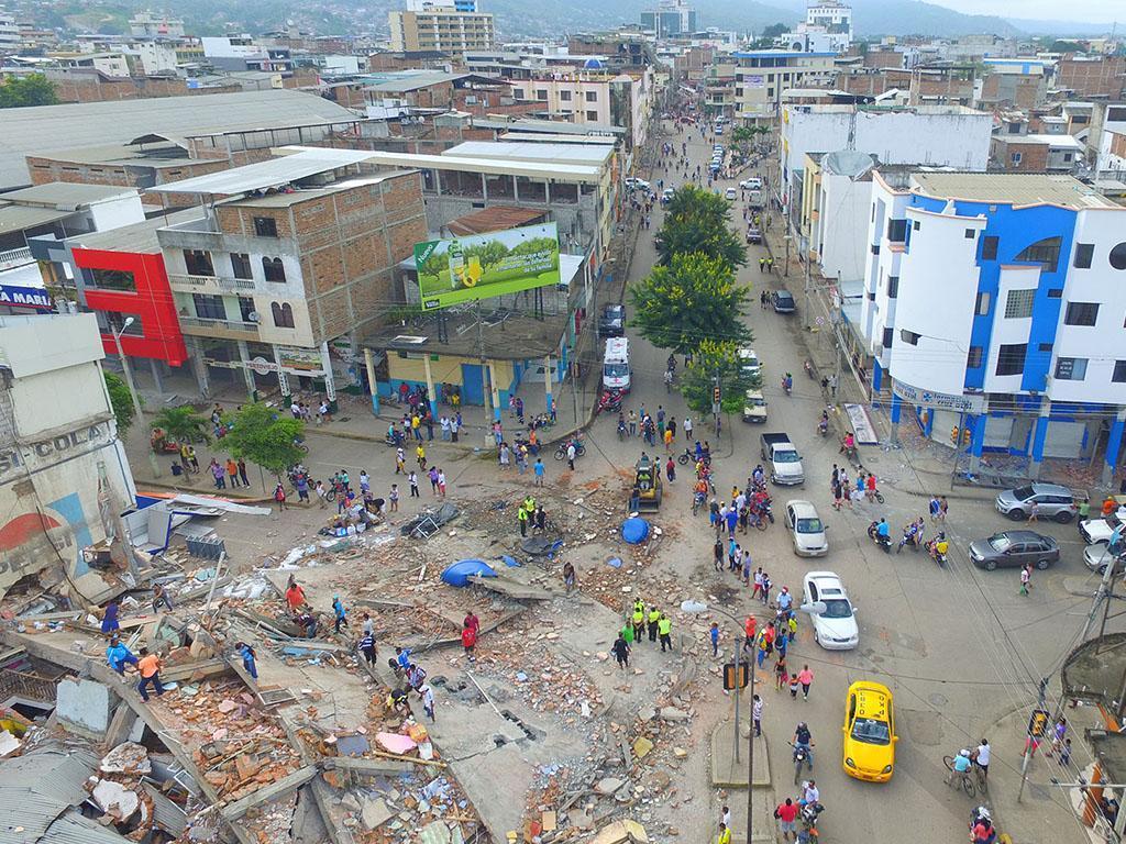 La UE destinará cuatro millones más para apoyar a Ecuador tras el terremoto
