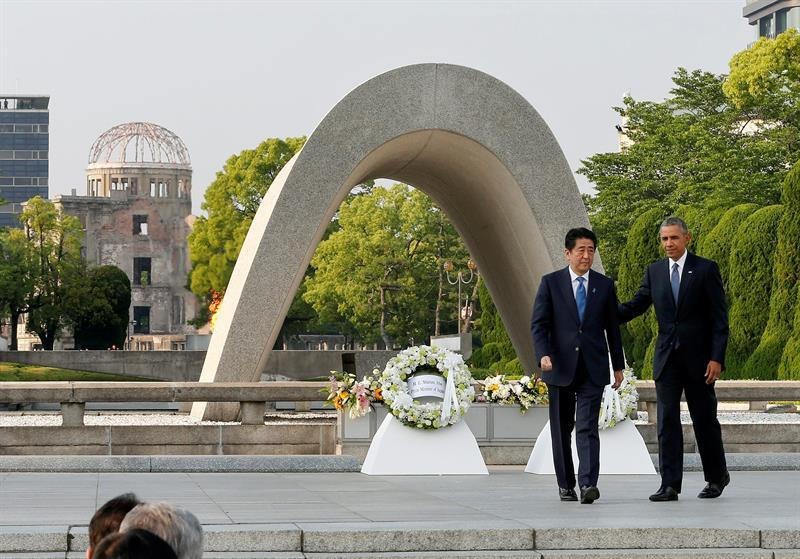 Obama: 'la bomba atómica lanzada sobre Hiroshima cambió el mundo'