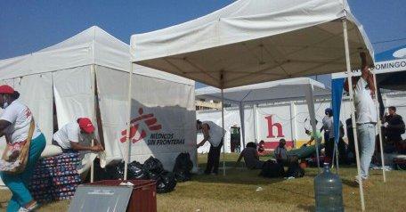 Médicos Sin Fronteras concluye misión de respuesta por terremoto en Ecuador