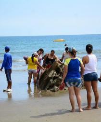 El turismo en la zona del terremoto en Ecuador se reactiva de a poco