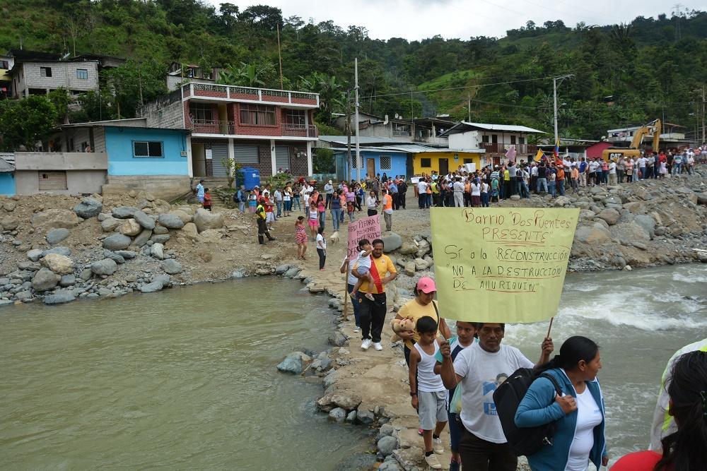 En Alluriquín hay preocupación por el futuro de la parroquia