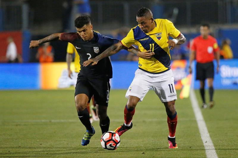 Ecuador trata de mejorar su suerte con la base del equipo de Chile 2015
