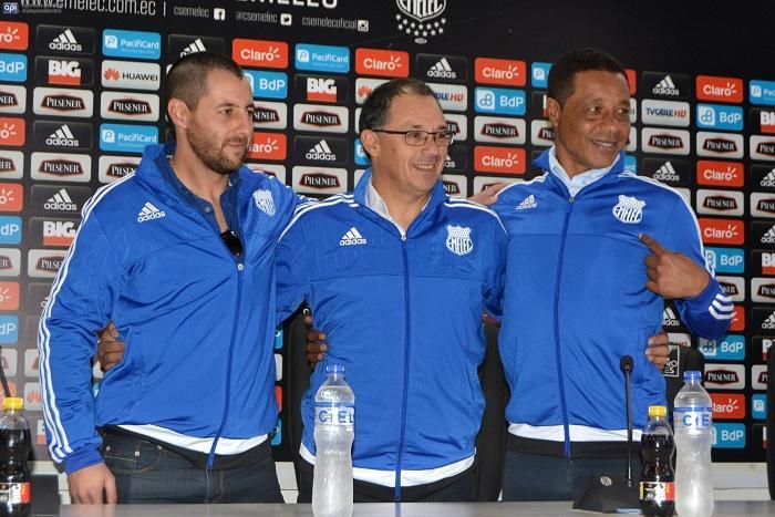 Alfredo Arias: 'El buen juego de Emelec no tenemos que cambiarlo'