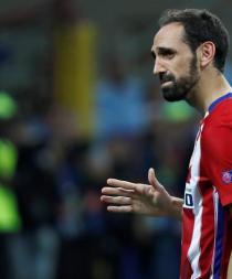 Juanfran y su conmovedora carta para los hinchas del Atlético de Madrid