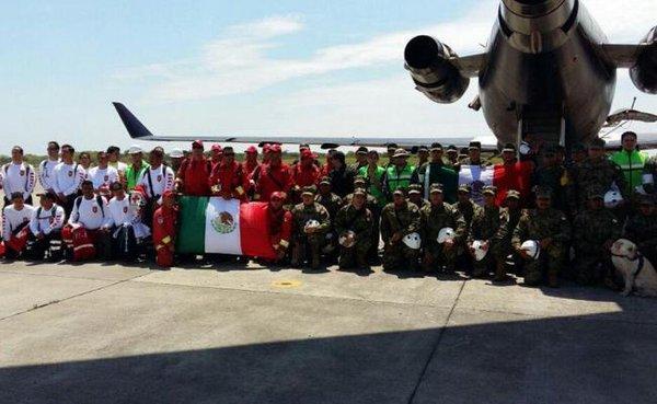 Ecuador recibió cerca de 250 toneladas de ayuda humanitaria de México