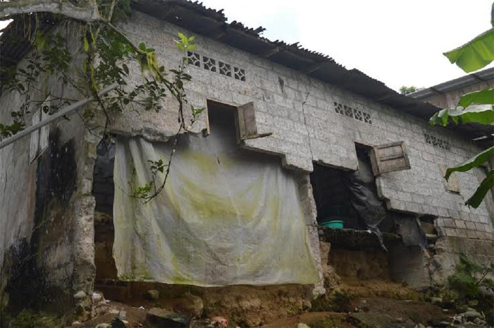40 casas afectadas en el sector rural por sismos