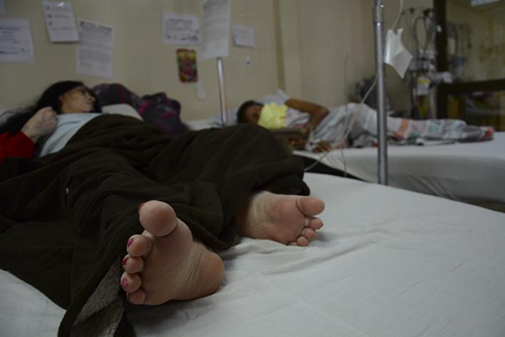Las operaciones se pueden reprogramar en el hospital