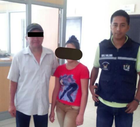 Dinapen recupera a una menor que estuvo desaparecida por más de un mes