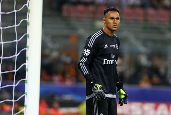El portero Keylor Navas es duda en la selección de Costa Rica para la Copa América