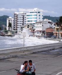 Las condiciones del mar son normales