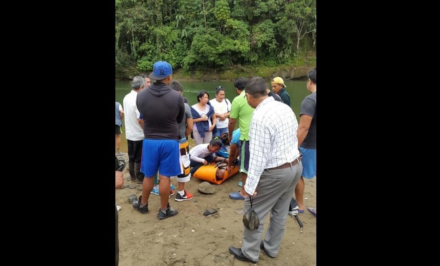 Hallan muerto a turista en el río Baba