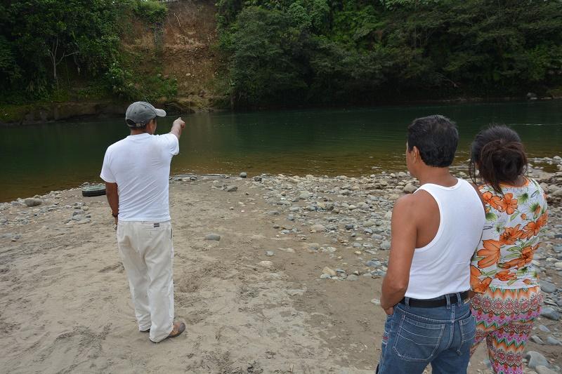 El Baba, un río de respeto