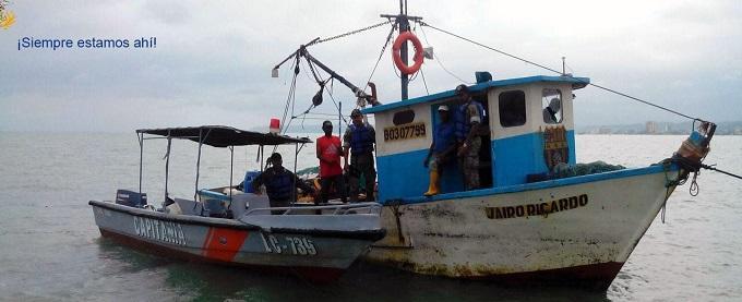 Localizan embarcación y 3 tripulantes desaparecidos hace 18 días