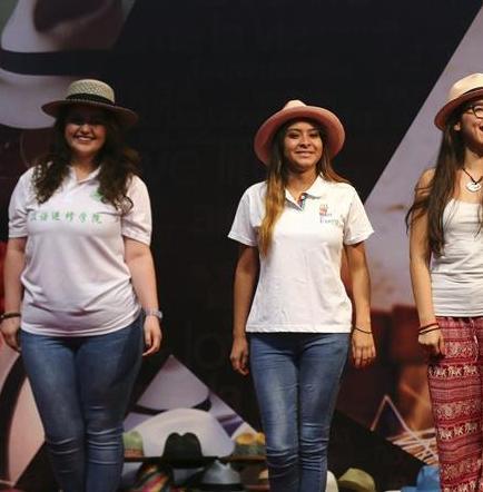 Sombreros manabitas de paja toquilla son promocionados en China  97eab421211