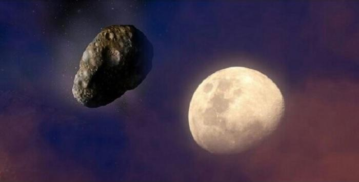 Asteroides pudieron llevar agua al interior de la Luna, según estudio