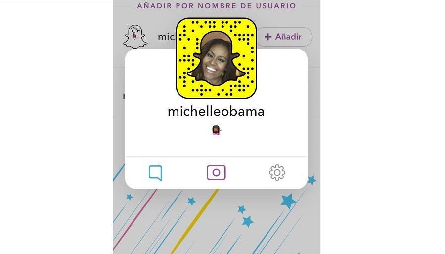 Michelle Obama se une a Snapchat para animar a jóvenes a seguir su agenda