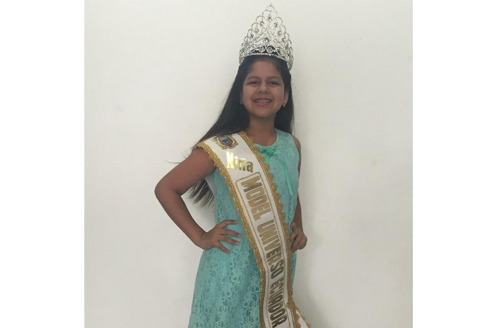 Manabita representará a Ecuador en el certamen Niña Model Universo