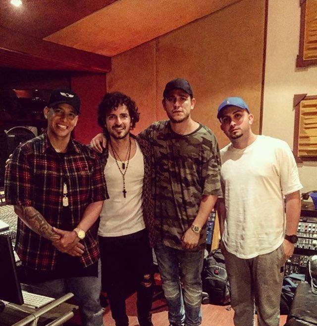 Daddy Yankee y Tommy Torres graban un tema juntos por primera vez