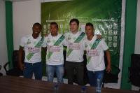 Liga de Portoviejo presenta a cuatro nuevos refuerzos