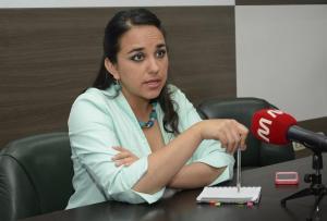 Gabriela Rivadeneira no descarta ser candidata a la presidencia de Ecuador