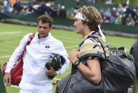 Se reanuda la tercera jornada de Wimbledon luego de más de cuatro horas