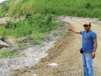 Piden mejorar camino rural