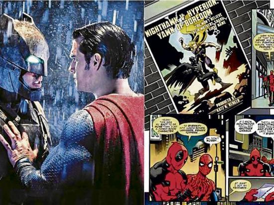 Marvel Comics se burla del poco éxito que tuvo el filme Batman v Superman