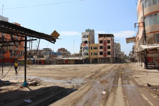 Manta es la ciudad donde más demoliciones se han realizado tras el terremoto