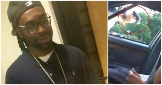 Transmite por Facebook el asesinato de su novio a manos de un policía