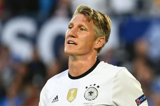 Schweinsteiger se convierte en el europeo con más partidos de fases finales