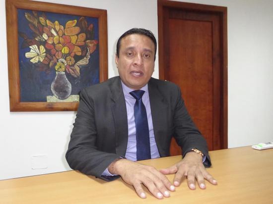 """Manuel Gilces: """"Bahía es una de las más afectadas"""""""